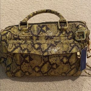 Snakeskin 'Mini Morning After' Satchel Handbag